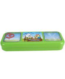 Pratap Hy Challenge  Pencil Box - Green