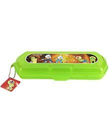 Pratap Hy Design Big Plastic Pencil Box (Color And Prints May Vary)