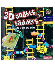 Kreative Box 3D Snakes And Ladders Game