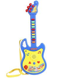 Smiles Creation Battery Operated Musical Guitar - Blue