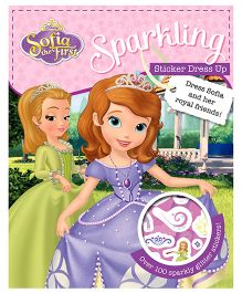 Sofia the First Sparkling Sticker Dress Up - English