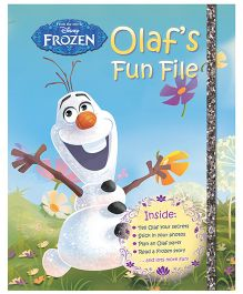 Disney Frozen Olaf's Fun File - English
