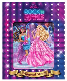 Barbie in Rock'n Royals Magical Story Book With Lenticular - English