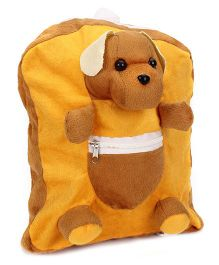 IR Activity Bag Puppy Applique - Brown