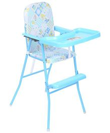 New Natraj High Chair Multi Print Blue - 040