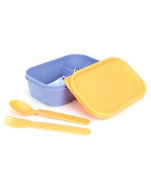 Pratap Plastic Lunch Box With Spoon And Fork