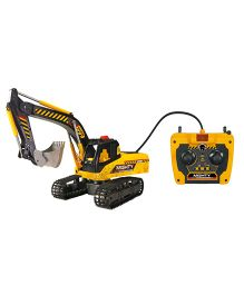 Dickie Mighty Excavator With Cable Remote Control - Yellow