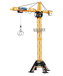 Dickie Mega Crane With Cable Remote Control - Yellow