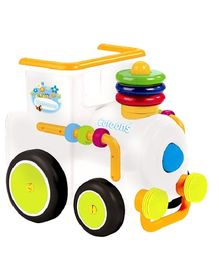 Smoby Cotoons Loco Activity Walker - White