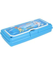 Pratap Hy Class Plastic Pencil Box Set - Blue