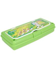 Pratap Hy Class Plastic Pencil Box Set - Green