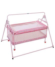 New Natraj Sleep Well Cradle Multi Print Pink - 031