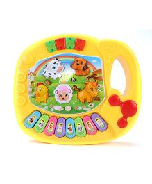 Playmate Animal Farm Mini Piano - Red