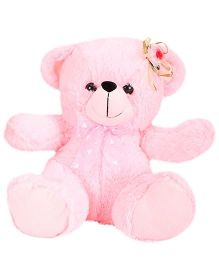 Funzoo Angel Bear Flower Applique Pink - 25 cm