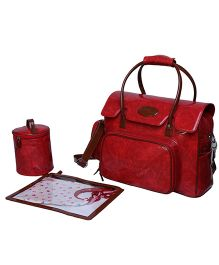Forefingersolutions Mumma's Baby Bag - Crimson Red