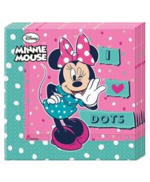 Disney Minnie Mouse Paper Napkins - 20 Pieces