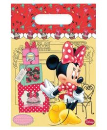 Disney Minnie Mouse Party Bags - 6 Pieces