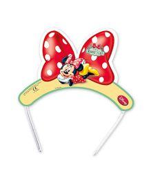 Minnie Mouse Die-cut Tiaras - 6 Pieces