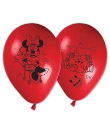 Disney Minnie Mouse Printed Balloons - Pack of 8