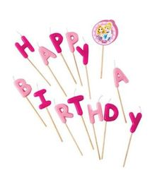 Disney Party Favours Happy Birthday Toothpick Candles