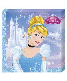 Disney Cinderella Print Paper Napkins - 20 Pieces