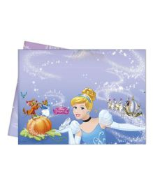 Disney Cinderella Print Plastic Tablecover