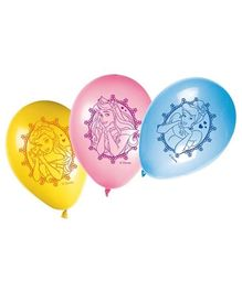 Disney Cinderella Print Balloons - Pack of 8