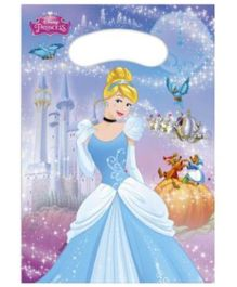 Disney Cinderella Print Party Bags - 6 Pieces