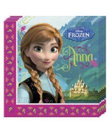 Disney Frozen Paper Napkins - 20 Pieces