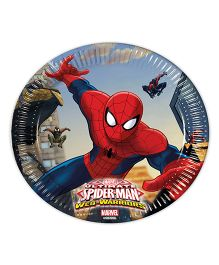 Marvel Spiderman Paper Plates Printed - 8 Pieces