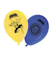 Marvel Spiderman Web Warriors Printed Balloons - Pack of 8