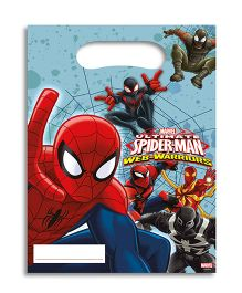 Marvel Spiderman Web Warriors Party Bags - 6 Pieces