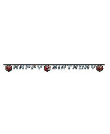 Marvel Spiderman Happy Birthday Die-cut Banner - Length 2.2 meters