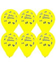 Baby Shower Balloons Yellow - Pack of 20