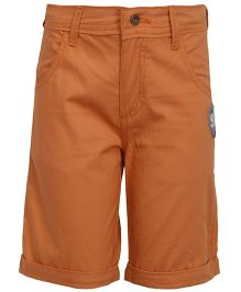 Bells and Whistles Twill Shorts - Orange
