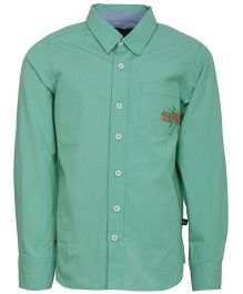 Bells and Whistles Filafil Full Shirt - Green