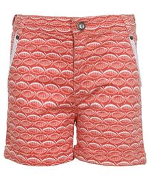 Bells and Whistles Printed Shorts - Orange