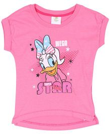 Fox Baby Daisy Duck Print Top - Pink