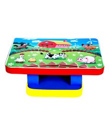 Cutez Printed Writing Table Small - Multicolour