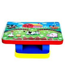 Cutez Printed Writing Table Large - Multicolour