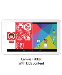 Micromax Canvas Tabby - The Tab with Kids Content & Parent Mode