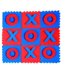 Cutez Board Games Tic-Tac-Toe - Blue Red