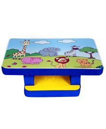 Cutez Printed Writing Table Large - Blue