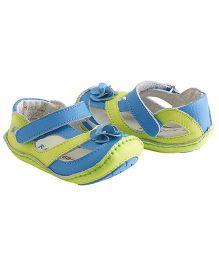 Rileyroos Allyson In Kiwi Baby Sandals