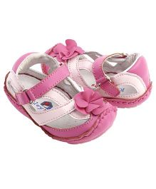 Rileyroos Allyson In Safflower Baby Shoe - Pink