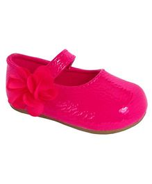 Baby Deer Skimmer Shoes - Pink