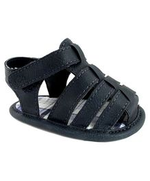 Baby Deer Crawling Stage Sandal - Navy Blue