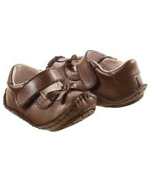 Rileyroos Mary Jane In Birch Baby Shoe - Brown