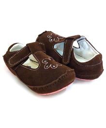 Rileyroos Elisabeth in Spice Baby Shoe - Brown