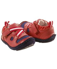 Rileyroos Taylor Racecar Baby Shoe - Cherry